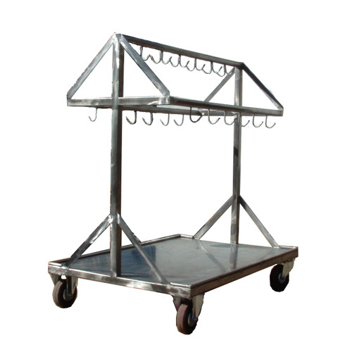 Red Offal Trolley