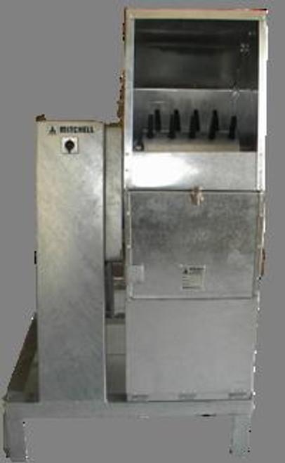 Tilting Bowl Plucker - Mitchell Engineering Food Equipment