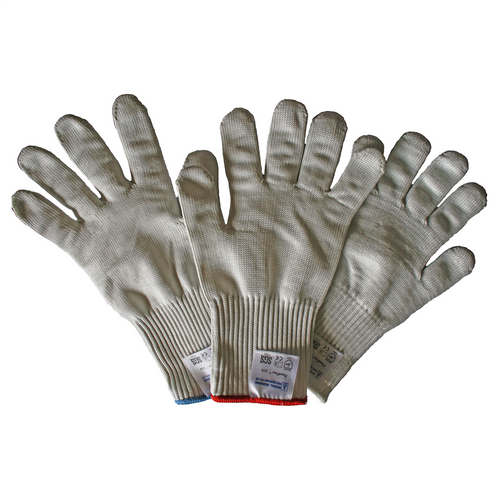 Small Extra Heavy Duty Cut Resistant Glove - 36% Stainless Steel Thread, Extra Long Cuff