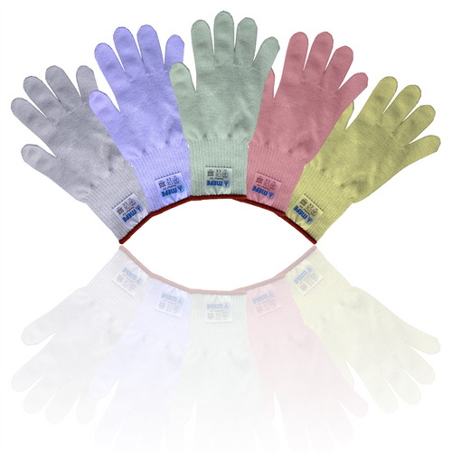 FoodFlex Cut Resistant Glove - 5 Colours Available, Full Hand, Extra Long Cuff, Ultra Soft