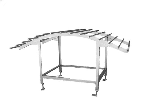 Pig Scraping Table - Stainless Steel