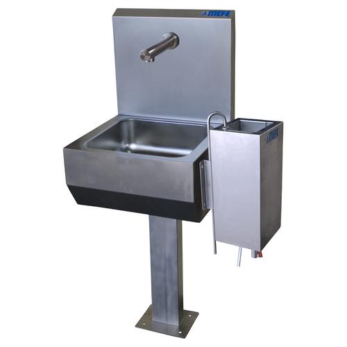 Hand Wash Basin & Steriliser Complete S/W Pedestal