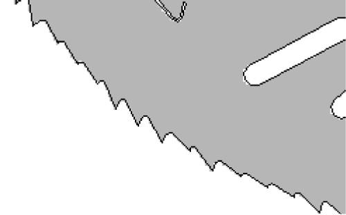KSZ*GA Blade 180, 230, 280, 320mm Diameter SPACIAL LOW NOISE