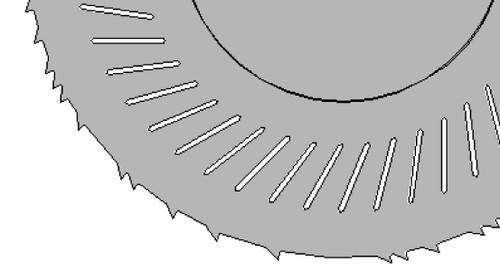 KSZ*GA Blade 400 mm Diameter  SPECIAL  LOW NOISE