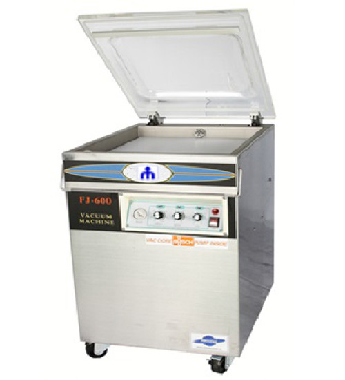 Vacuum Packing Machine 600×500×200mm Chamber 2KW 590mm sealing