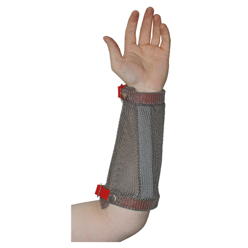 Stainless Steel Chain Mesh Arm Guard (19 cm)
