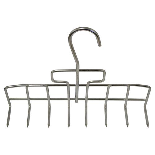 Bacon Hook - 8 hook rack, 4mm, Stainless Steel