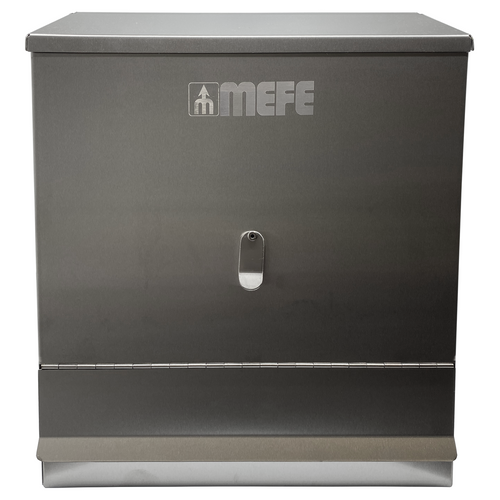 Stainless Steel Dispenser - Flap Opening
