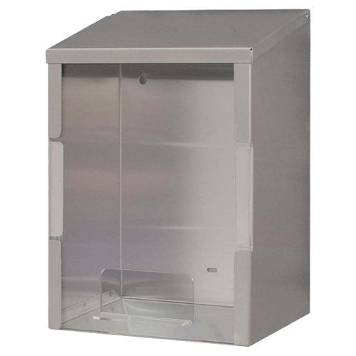 Universal Stainless Steel Dispenser - Perspex Front