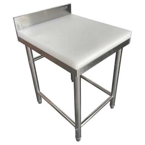 Heavy Duty Butcher's Chopping Table - 600 x 700 x 850mm