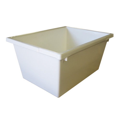 Nesting Crate / Packing Tub - 22L - Food Grade Polypropylene