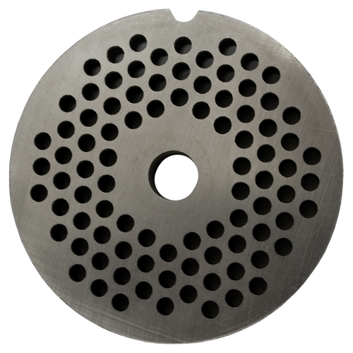 Round Mincer Plate 4mm holes - Part for #12 Mincer