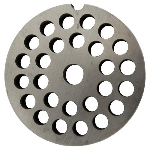 Round Mincer Plate 8mm holes - Part for #12 Mincer