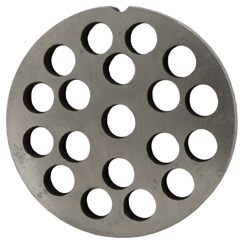 Round Mincer Plate 10mm holes - Part for #12 Mincer