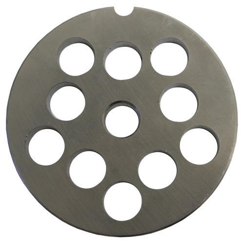 Round Mincer Plate 12mm holes - Part for #12 Mincer