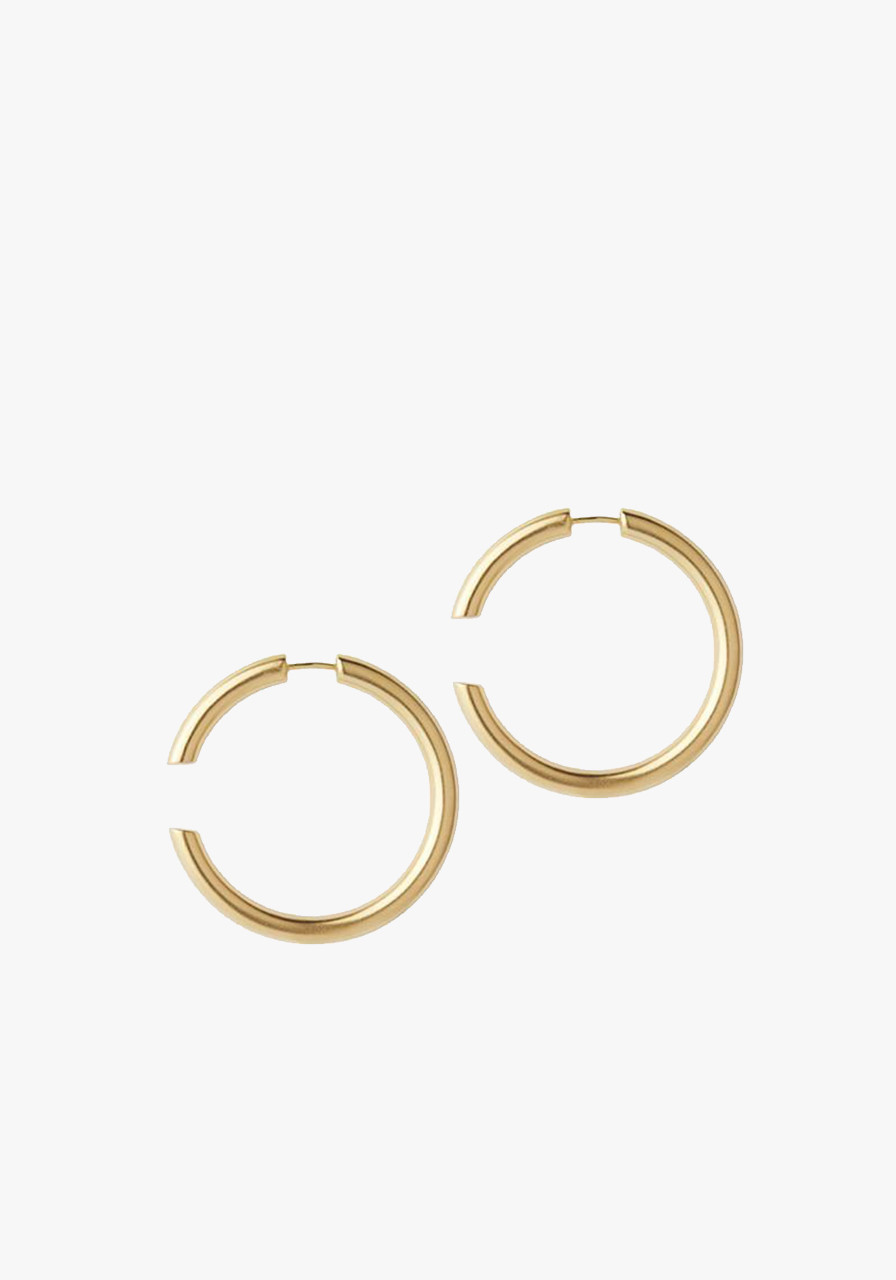 4e601b778a02a Maria Black Disrupted 40 Earrings- Brushed Gold