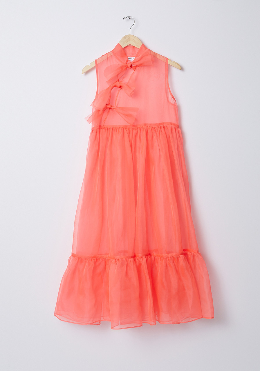 6a6561c052 Kamperett Mae Dress- Coral - LE POINT