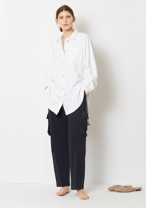 845c9e2395 Opening Ceremony Elastic Button Up Shirt