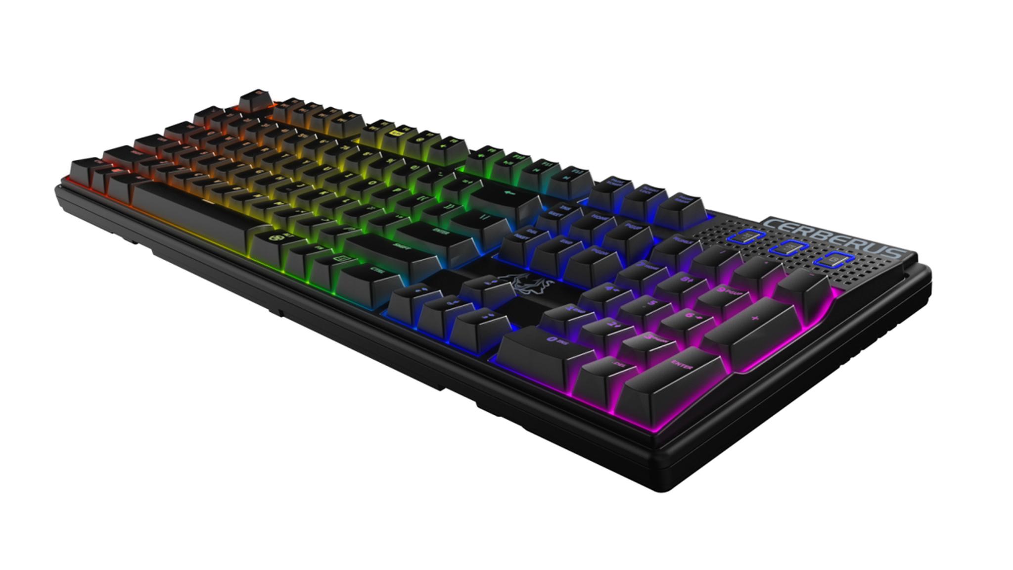 Asus Cerberus Mech Rgb Mechanical Keyboard Brown Great Buy