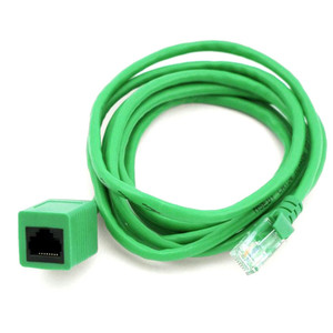 RJ45 Male to Female Cat 5e Network/ Ethernet Cable – 2m (Green)
