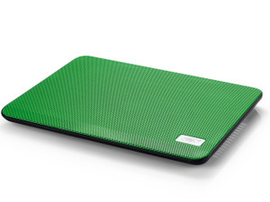 """Deepcool N17 Green Notebook Cooler with 140mm Fan (for NBs up to 14"""")"""