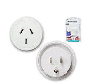 Travel Adapter for Australian and New Zealander Traveling to USA/Canada