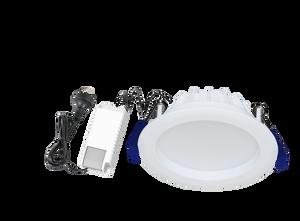 Energetic Impulse IP54 Flush Downlight 11W (800lm) 3000K - Warm White