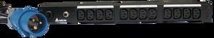 Delta Basic 16A 1U PDU - 12x C13 Outlet