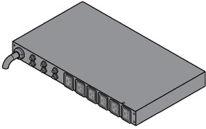 Delta Basic 32A 1U PDU - 6x C19 Outlet