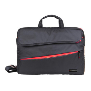 "Promate 'Charlette' Modern Styled Messenger bag for Laptops Up to 15.6"" - Black"
