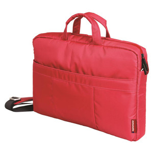 "Promate 'Charlette' Modern Styled Messenger bag for Laptops Up to 15.6"" - Red"