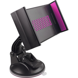 """Promate 'Mount-Tab' Universal Heavy Duty Tablet Grip Mount for Devices up to 10"""" - Pink"""