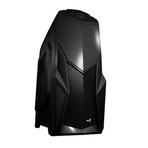 Aerocool Cruisestar Mid Tower Case - Black