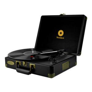 mbeat Woodstock Retro Turntable - Black