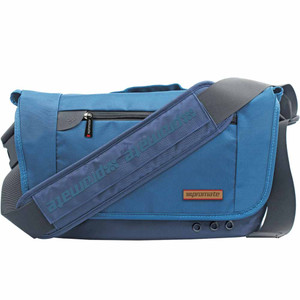 "Promate ""Azzure-L"" Premium Messenger Bag for Laptops upto 15.6"" with Multiple Pocket Options"