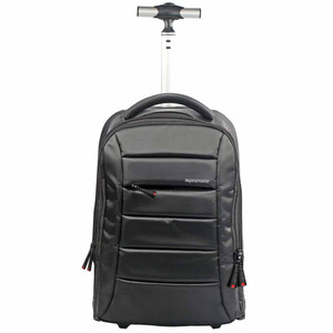 "Promate ""BizPak"" Premium Multi-purpose Portable Trolley Bag for Laptops up to 16"""