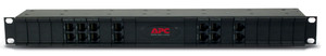 """APC 19"""" CHASSIS, 1U, 24 CHANNELS, FOR REPLACEABLE DATA LINE SURGE PROTECTION"""