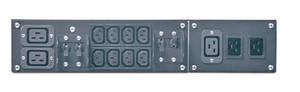 APC Service Bypass Panel- 230V; 50A; MBB; IEC320 C20/HW input; IEC-320 Output- (2) C19 (8) C13