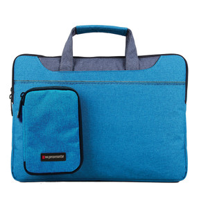 "Promate 'Desire-L' Classic Elegant Tote With Sophisticated Styling For Laptops upto 15.4"" - Blue"