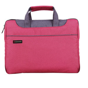 """Promate 'Desire-L' Classic Elegant Tote With Sophisticated Styling For Laptops upto 15.4"""" - Red"""