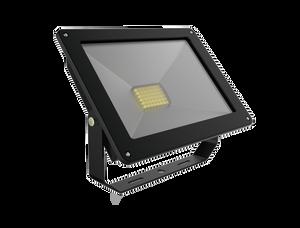 Energetic SupValite Weatherproof LED Slim Floodlight IP65 20W 4000K 1200Lm Black [272002]