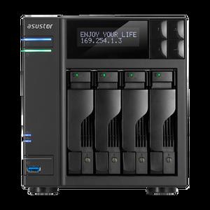 ASUSTOR AS7004T 4-Bay NAS, Core i3 Dual-Core, 2GB DDR3 (Smallnetbuilder's #1 Ranked Total NAS June 2015