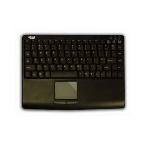 Adesso SlimTouch Mini Keyboard USB with TouchPad Black