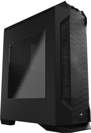 Aerocool LS-5200B Mid Tower Case for water cooling- Black