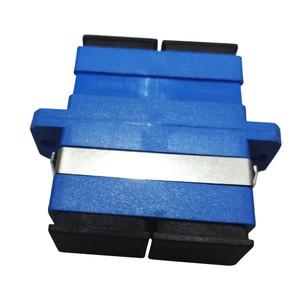 LinkBasic Fibre Optic Adaptor SC Singlemode Duplex Coupler (Pack of 5)