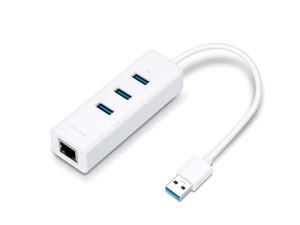 TP-Link UE330 USB 3.0 3-Port Hub & Gigabit Ethernet Adapter