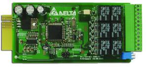 Relay I/O card for Delta UPS