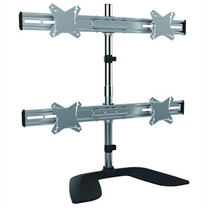 Brateck Free Standing Four LCD Monitors Stand from 13''-27""