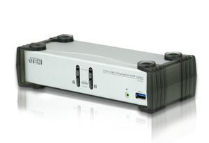 Aten 2 Port USB 3.0 4K DisplayPort KVMP Switch, KVM cable included