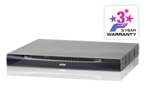 Aten 24 Port KVM Over IP, 1 local/4 remote user access, 1900x1200